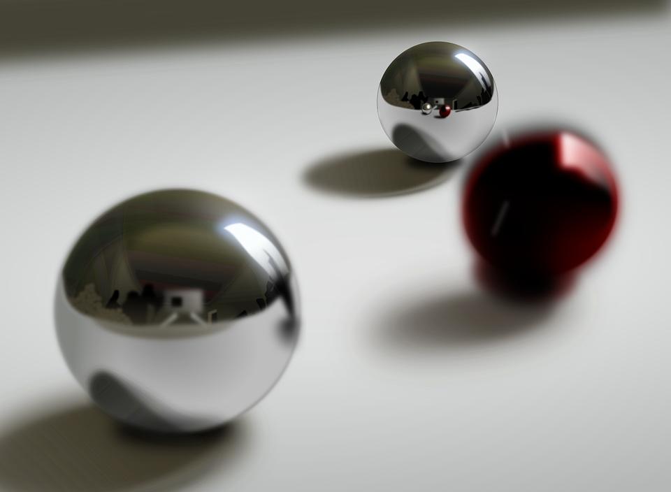 Ball Bearings, Balls, Pinball, Sphere, Steel