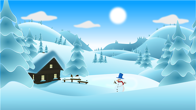 Landscape Scenery Snow · Free Vector Graphic On Pixabay