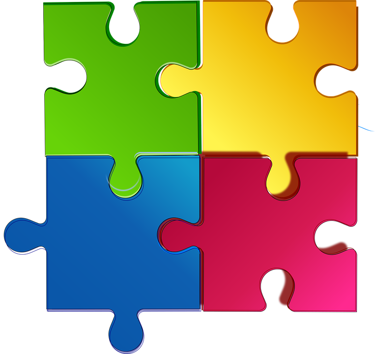 Jigsaw Puzzle Game Match Teamwork