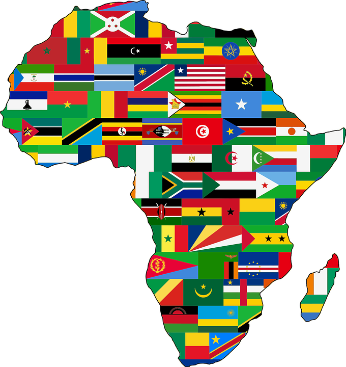 Africa Continent Countries · Free vector graphic on Pixabay