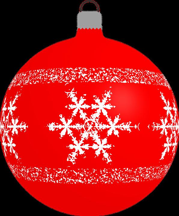 bauble christmas decoration ornament snowflake - Christmas Decoration Images Free