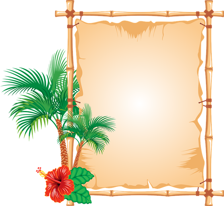 Bamboo border caribbean · free vector graphic on pixabay