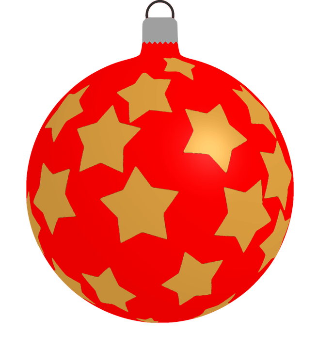 Bauble Christmas Decoration · Free vector graphic on Pixabay