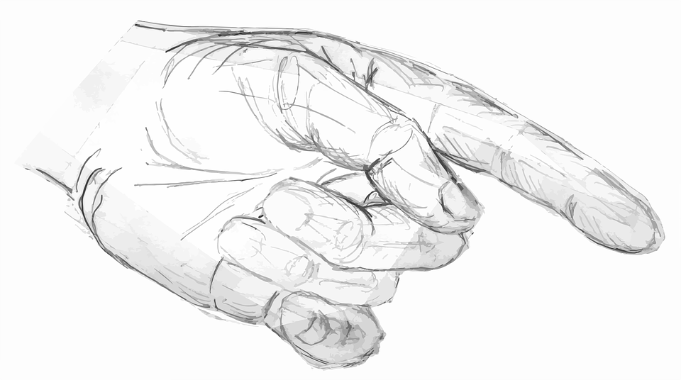 Image vectorielle gratuite dessin main crayon croquis - Main en dessin ...