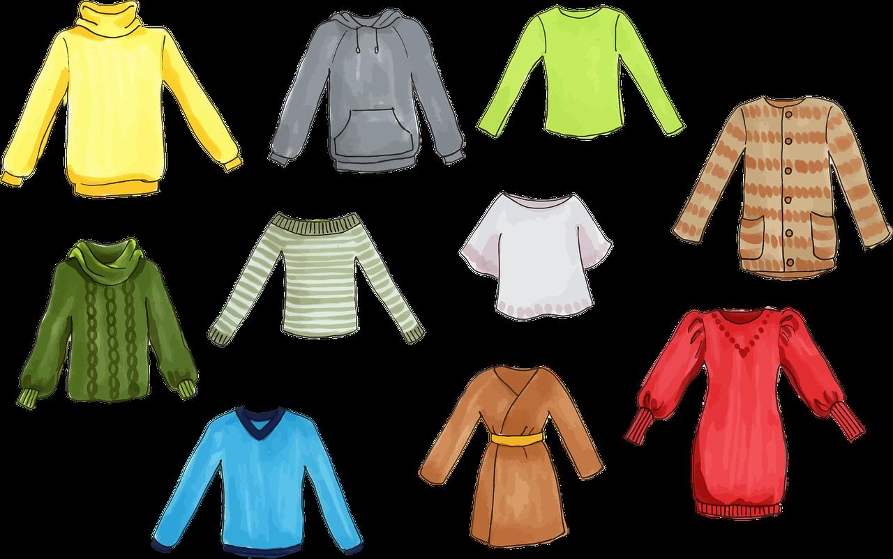 Картинки с изображениями одежды