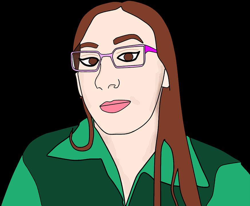 Image vectorielle gratuite dessin femmes jeune fille - Dessin de jeune fille ...