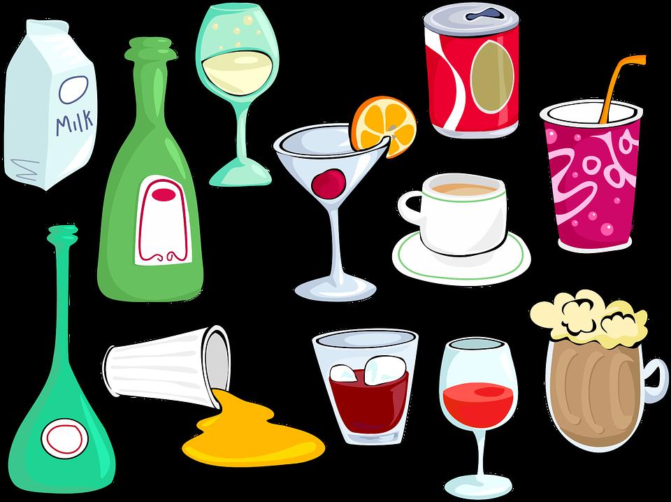 Alcohol, Beer, Beverage, Drinks, Glasses, Juice, Milk