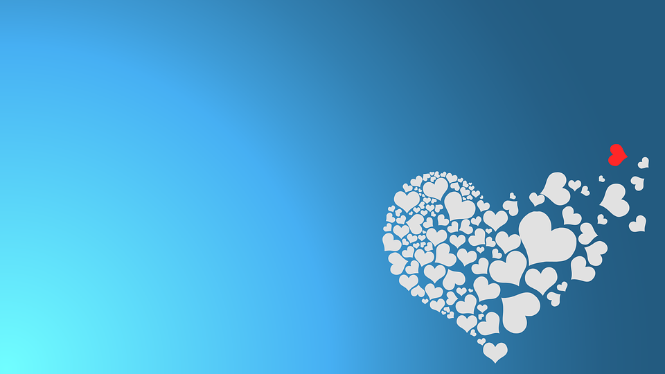 Free Vector Graphic Background Breakup Heart Love