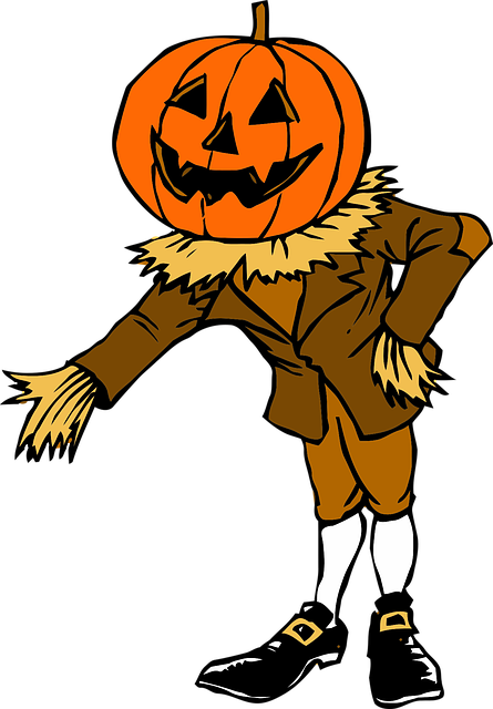 Costume Halloween Pumpkin · Free vector graphic on Pixabay