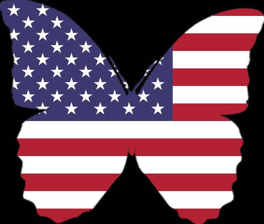 kostenlose vektorgrafik amerika schmetterling flagge kostenloses bild auf pixabay 1298039. Black Bedroom Furniture Sets. Home Design Ideas