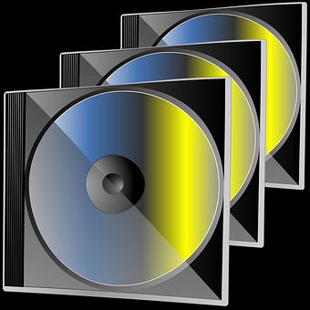 Audio Cd Compact Disc Data Dvd Laser Media