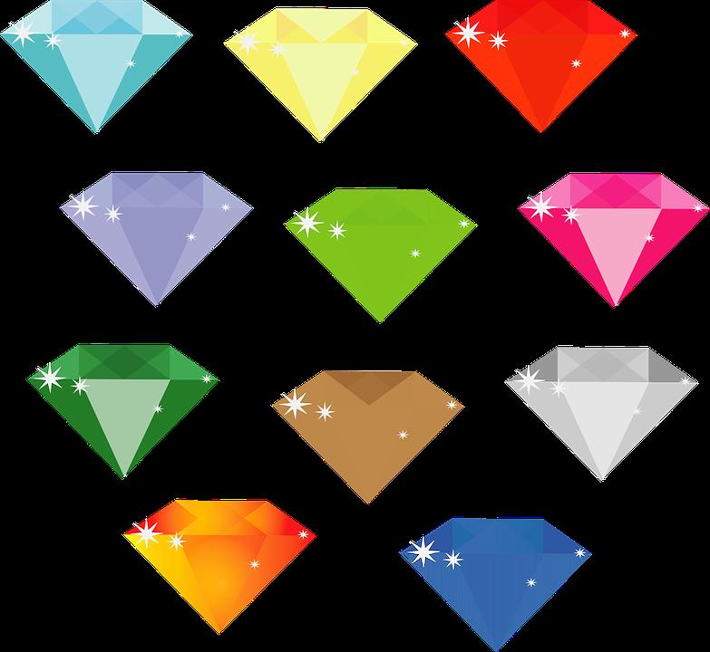 ダイヤモンド 宝石 ジュエリー Pixabayの無料ベクター素材