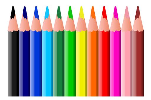 Animation, Colors, Pencil, School