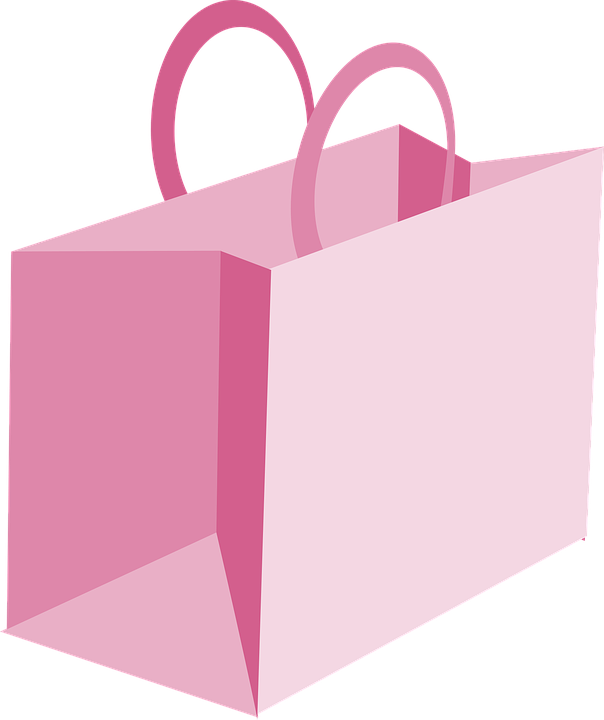 Free vector graphic: Bag, Cute, Misc Boutique, Pink - Free