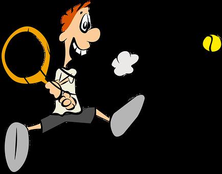 テニス, スポーツ, 漫画キャラクター, コミック, 漫画, テニス, テニス