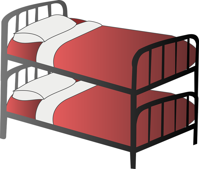 Bed Bedroom Bunk Free Vector Graphic On Pixabay