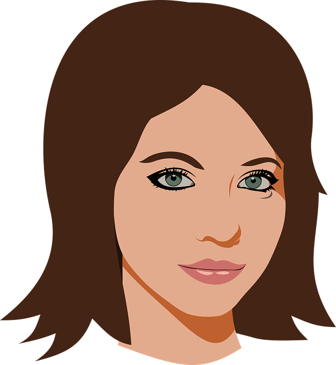 Actress Beauty Face Free Vector Graphic On Pixabay