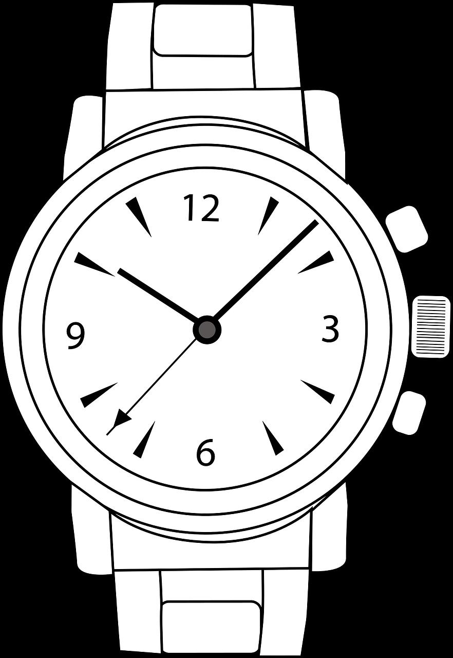 Рисунки нарисованных часов