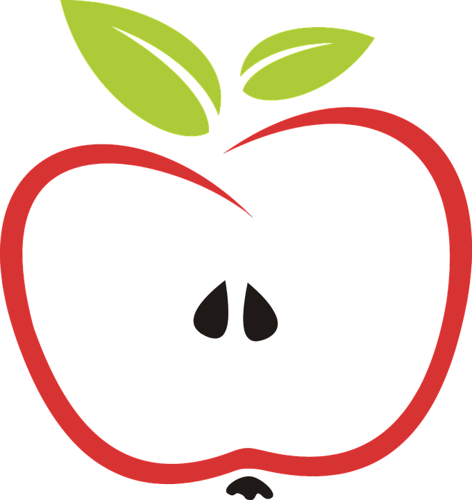 Free vector graphic: Abstract, Apple, Eat, Edible, Fruit ...