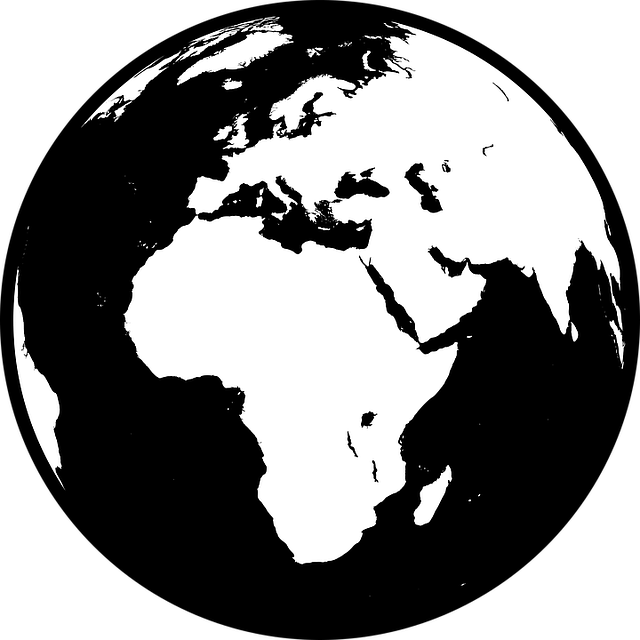 Free vector graphic: Africa, Asia, Earth, Europe, Globe ...