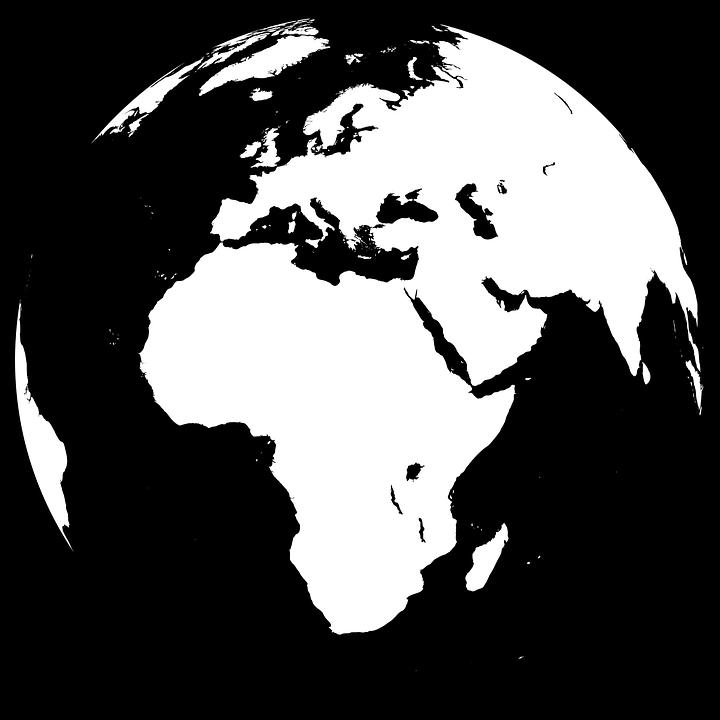 kostenlose vektorgrafik afrika asien erde europa. Black Bedroom Furniture Sets. Home Design Ideas