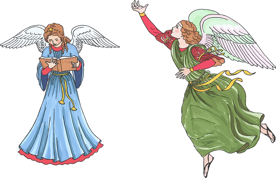 Christmas Angel Transparent Png Clip Art Image: Angels Divine Female · Free Vector Graphic On Pixabay