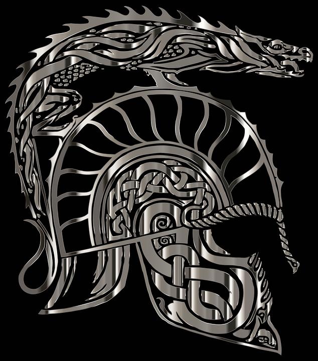 Free Vector Graphic Armor Dragon Helm Helmet Free