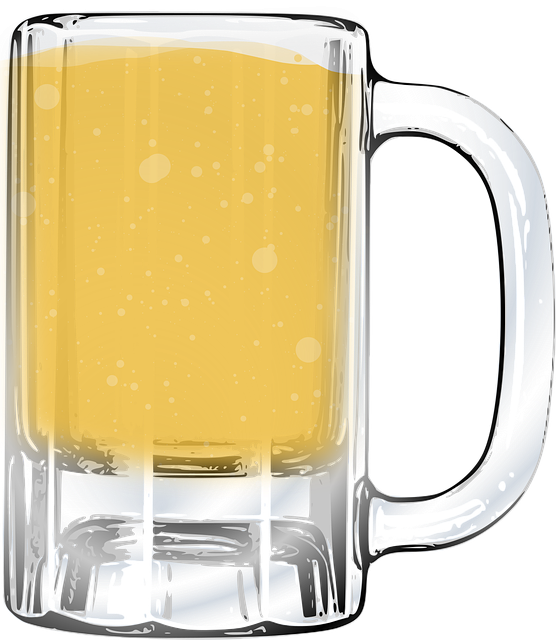 Beer Glass Jar 183 Free Vector Graphic On Pixabay