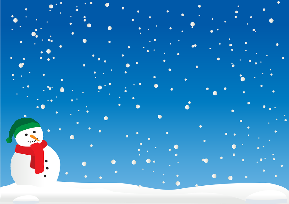 christmas cold landscape free vector graphic on pixabay