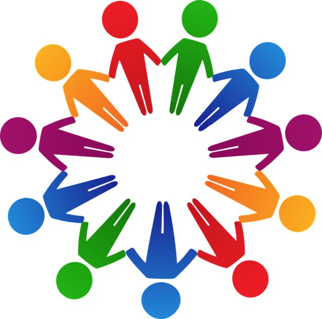 Circle Colorful Cooperation · Free vector graphic on Pixabay