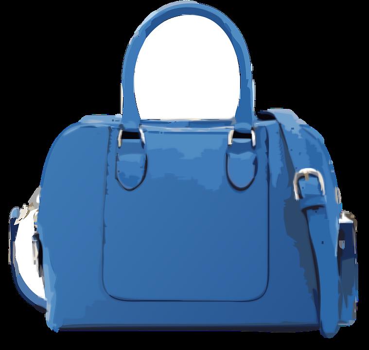 Modrá Kabelka No Logo · Vektorová grafika zdarma na Pixabay 7836a8c8028