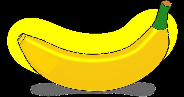 Banana Eat Edible · Free vector graphic on Pixabay   640 x 338 png 58kB