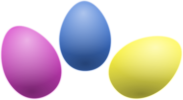 Free Vector Graphic: Colored Eggs, Easter, Eggs