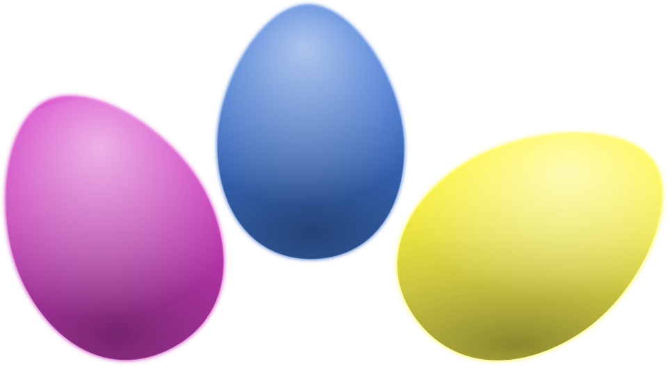colored easter eggs hd - photo #19