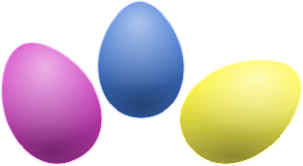 colored easter eggs hd - photo #43