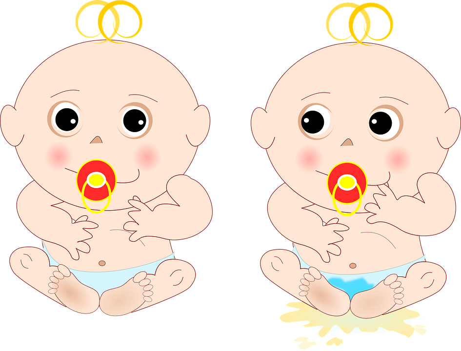 Bambino, Bebe, Oops, Ciuccio, Pipi, Vasino
