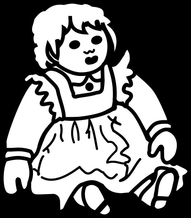 çocuk Boyama Kitabı Bebek Pixabayda ücretsiz Vektör Grafik