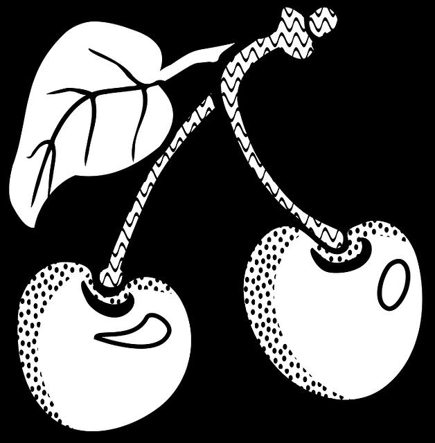 ccc früchte kirschen kirsche · kostenlose vektorgrafik auf