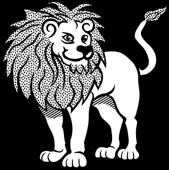 660 Koleksi Gambar Hitam Putih Singa Gratis Terbaik