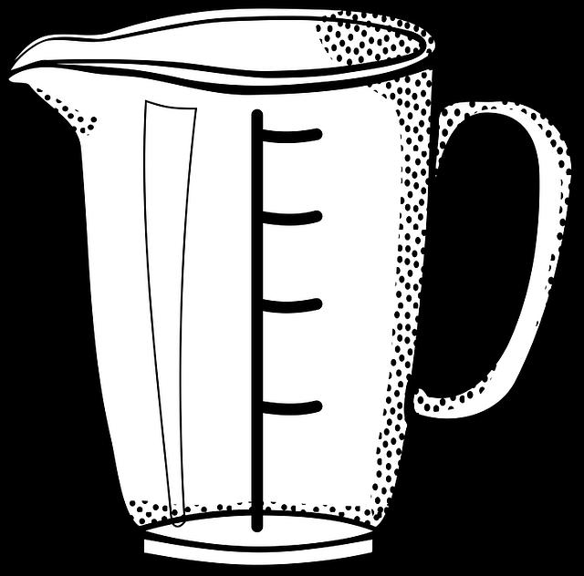 Messbecher clipart  Kostenlose Vektorgrafik: Pokal, Küche, Liter, Messen - Kostenloses ...