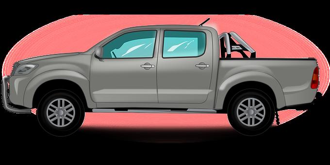 Pickup Truck, Car, Pickup, Truck, Auto