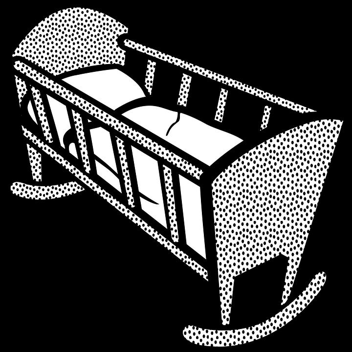 Kleurplaten Baby Wieg.Baby Kind Wieg Gratis Vectorafbeelding Op Pixabay