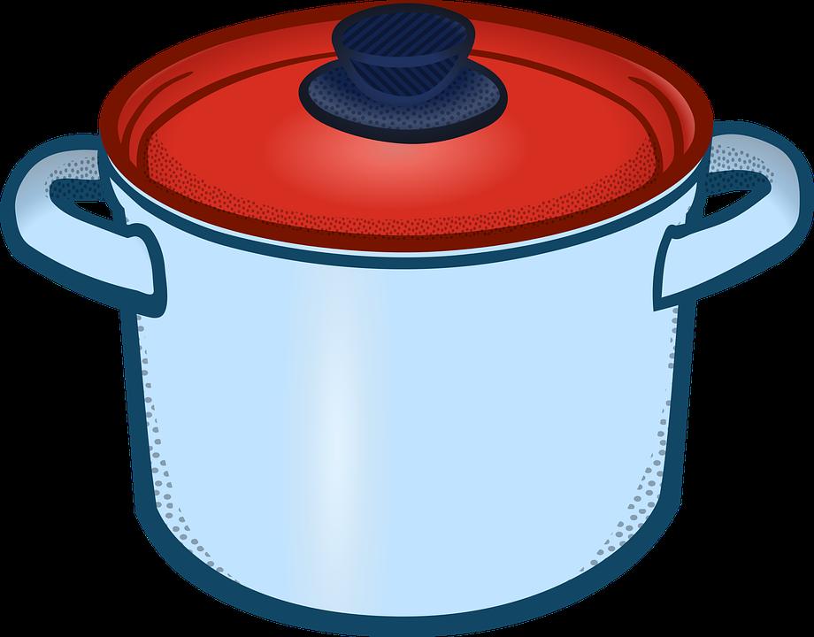 boiling kitchen pan free vector graphic on pixabay rh pixabay com Crawfish Boiling Pot Clip Art crawfish boiling pot clip art
