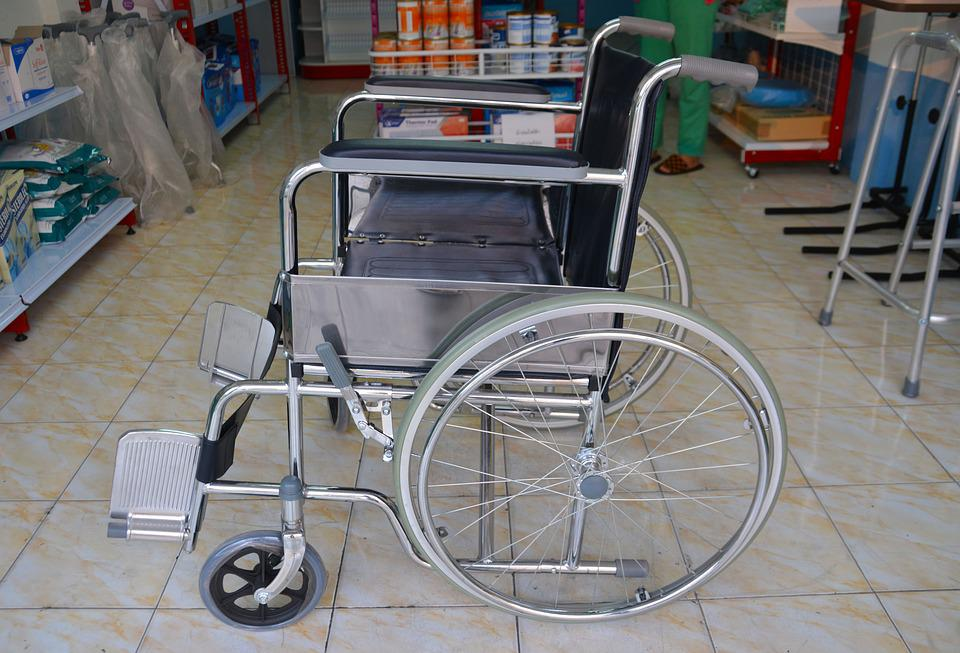 traditional wheelchair