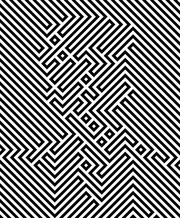 Line Optical Questions : Free illustration optical illusion lines