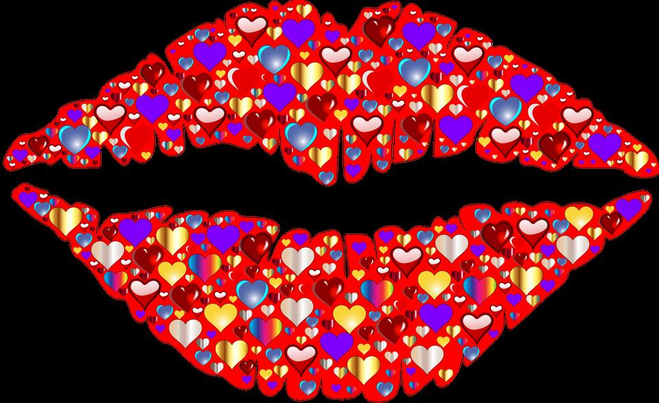 Cuore Labbra Bacio 183 Grafica Vettoriale Gratuita Su Pixabay