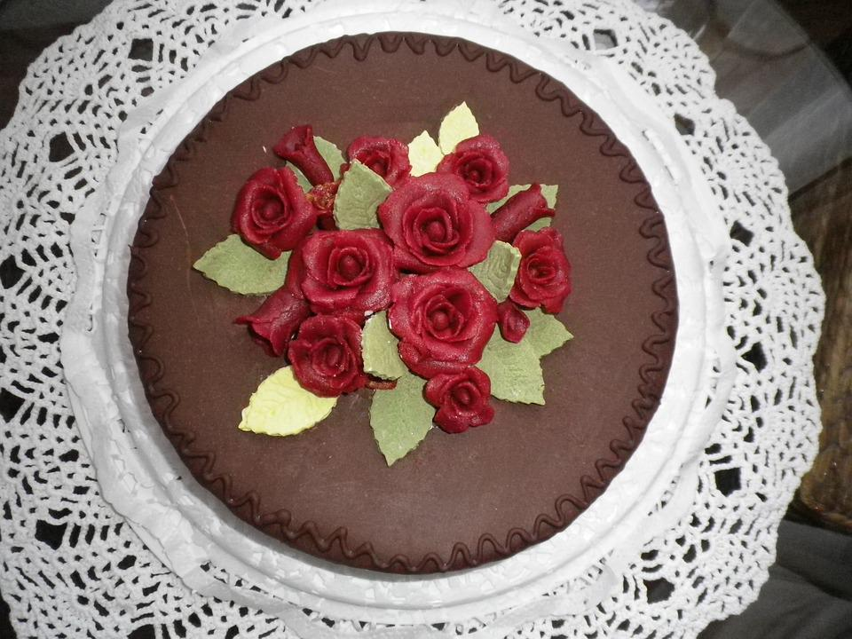 Cake Birthday Marzipan Free Photo On Pixabay