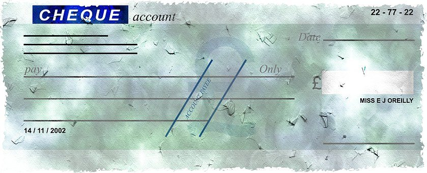 A corssed cheque