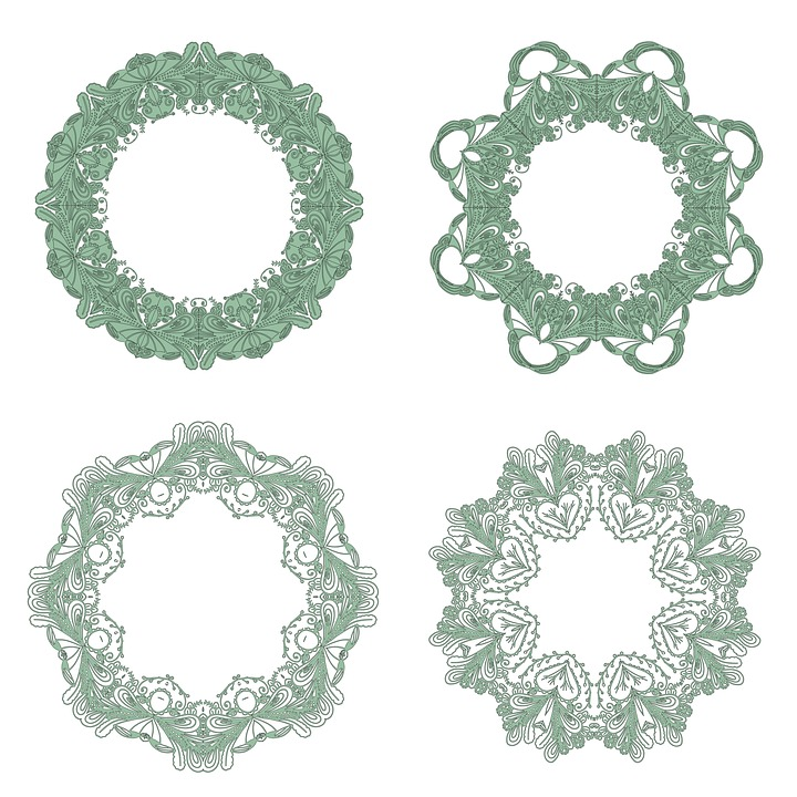 Free illustration: Frame, Edging, Victorian, Pattern ...