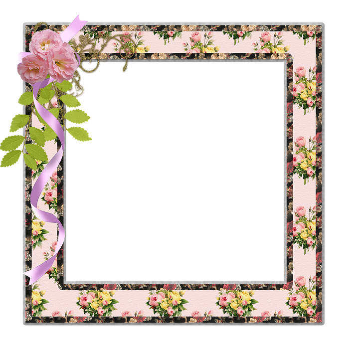 Free illustration: Frame, Photo, Scrapbook, Flowers - Free ...